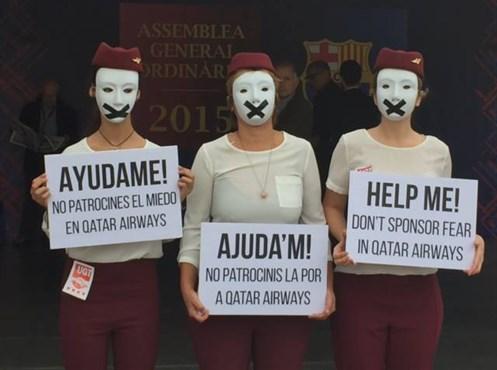 Barcelona Protest 2
