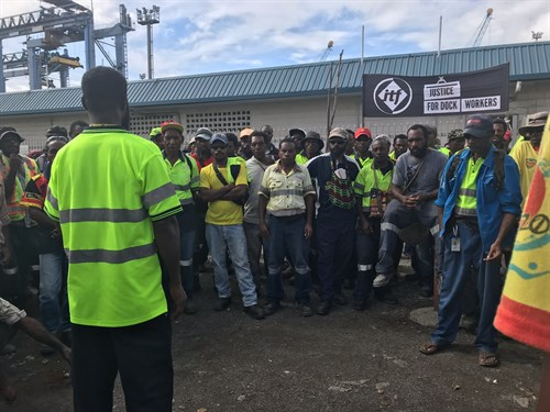 Port Lae Dockworkers _ITF