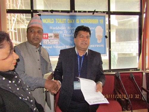 world toilet day Nepal