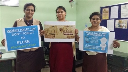 world toilet day India
