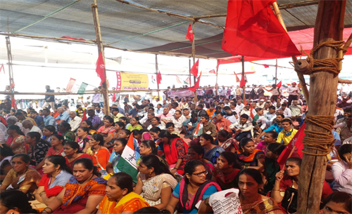 Joint Trade Unions Rally In Mumbai