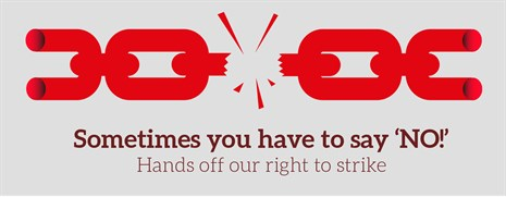 Right to strike logo Eng