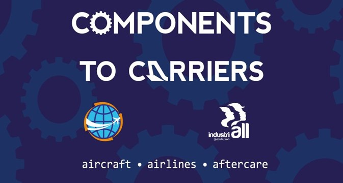 Components to carriers logo