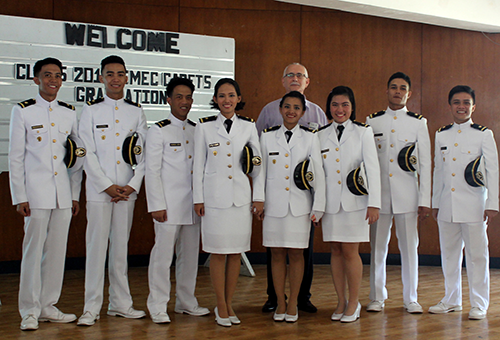 IMEC cadets graduation day