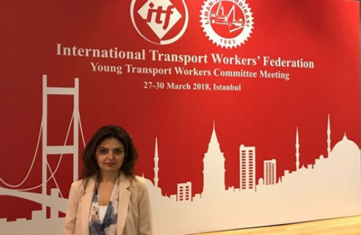 Baker Khundakji, ITF young workers co-ordinator