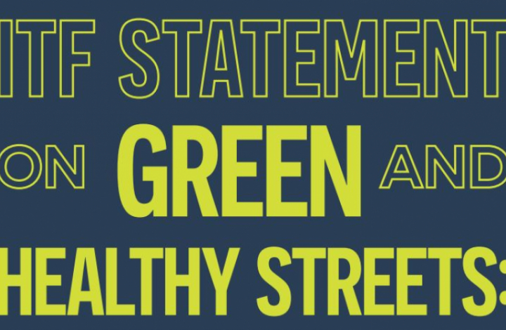 Cover of Green and Healthy Streets statement