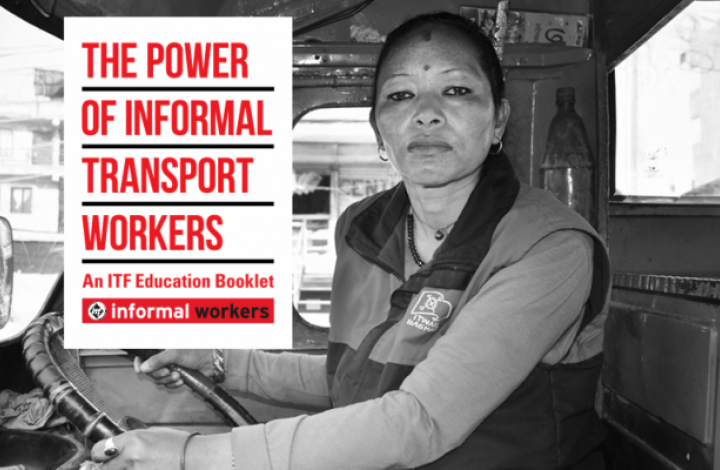 Power of informal transport workers booklet cover image