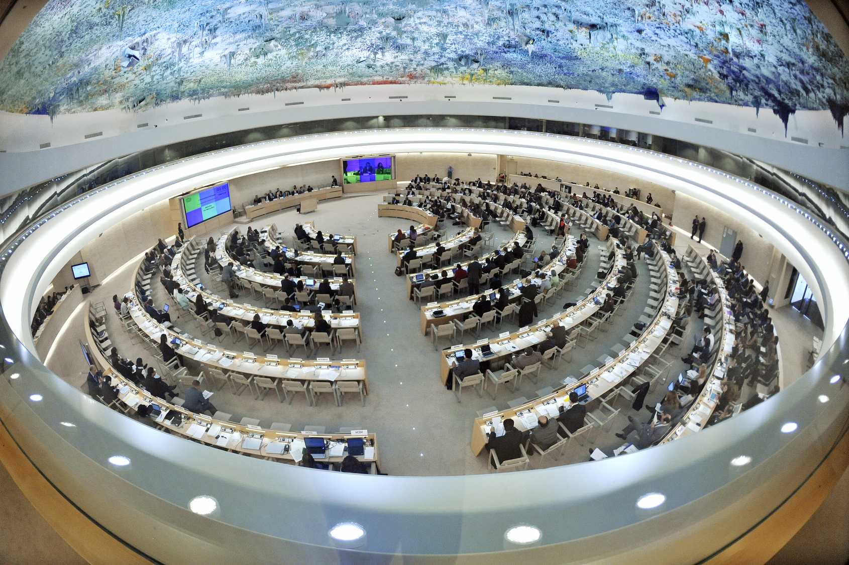 Negotiations have already taken place at UN Human Rights Council. Image credit: United Nations