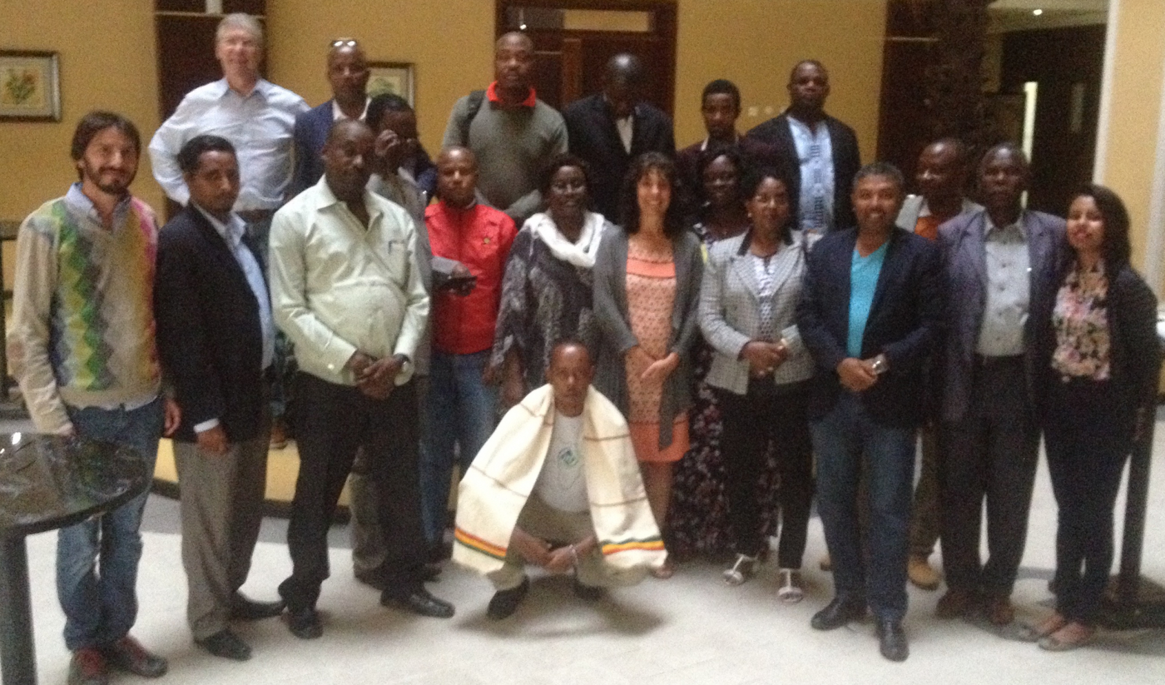 Activists from eight ITF unions met at the workshop