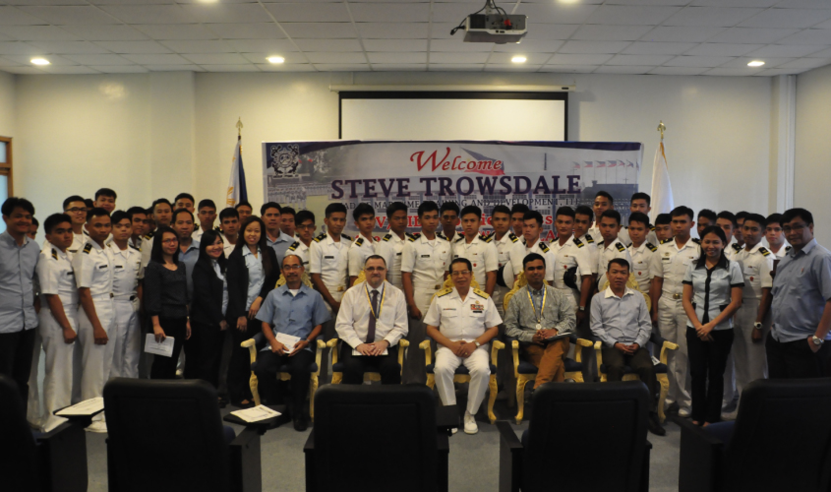 Asia Pacific maritime cadets receive HIV/AIDS prevention